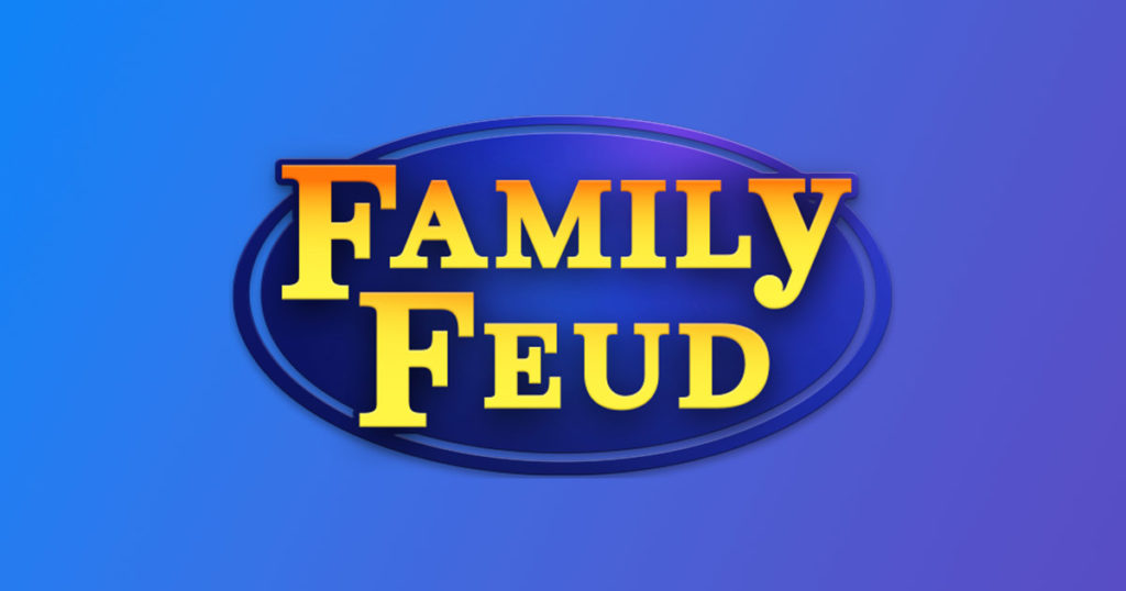 Family Feud Insurance Edition